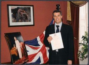 Attie Heunis goes British!